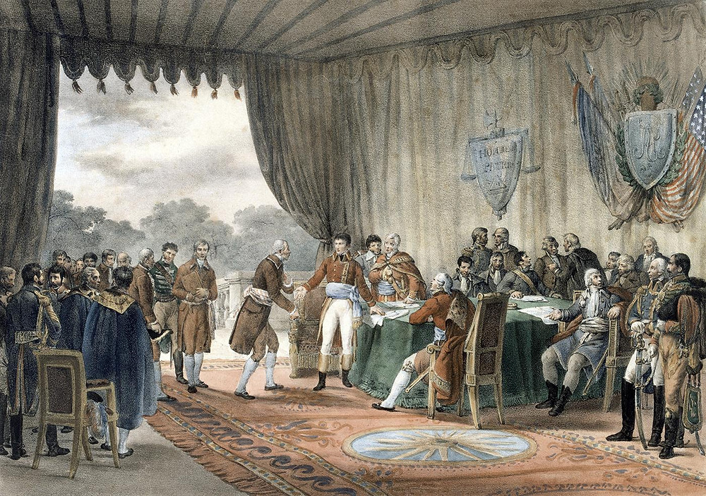 The Signing of the Treaty of Mortefontaine on 30 September 1800