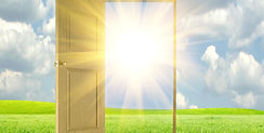 Open door to freedom from negative thoughts, beliefs, habits, old traumas, and contolling relationships