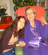 Crystal Taylor and her grandmother Phyllis Krystal