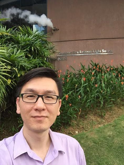 At Singapore Synchorton Light Source