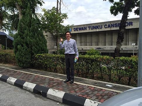 At UM(University Malaya)