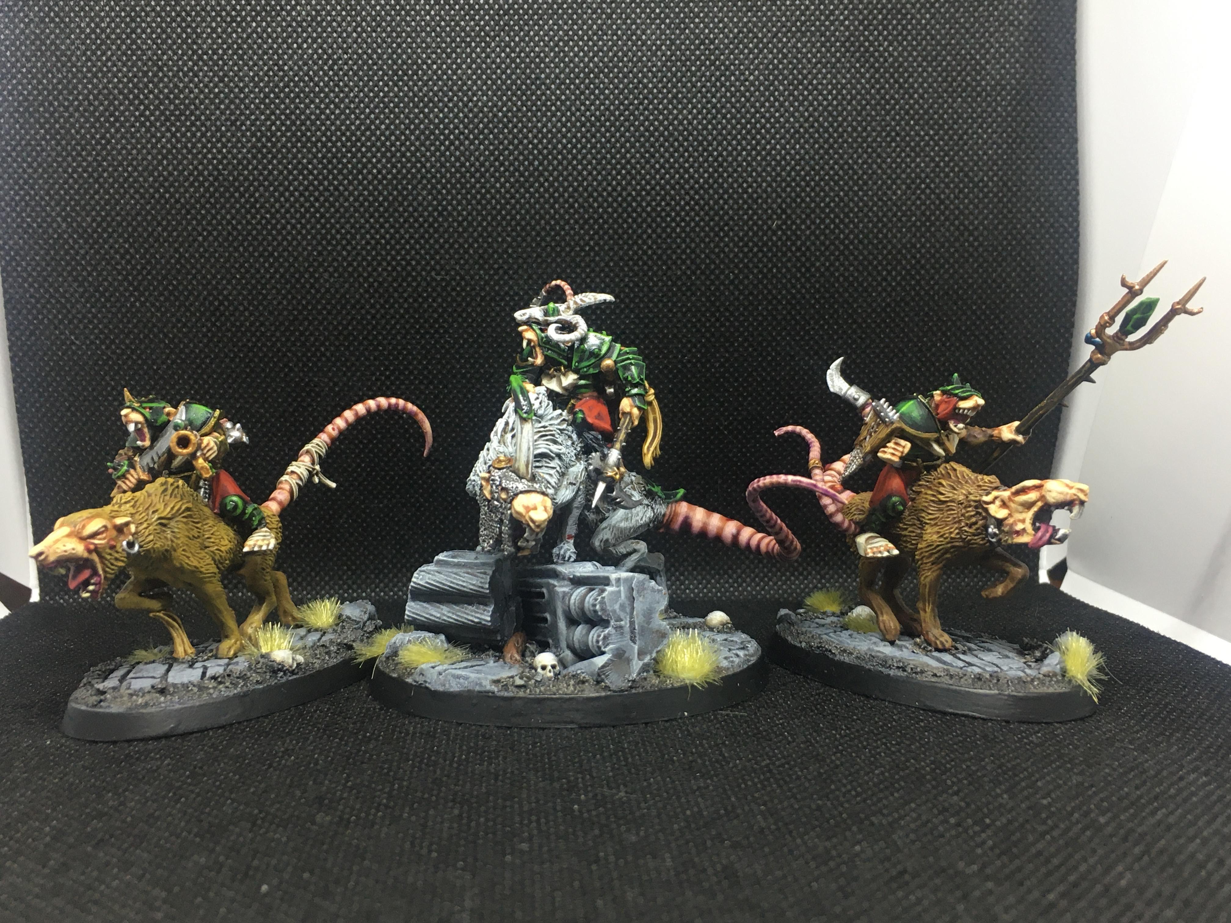 Skaven Wolf Rat Riders