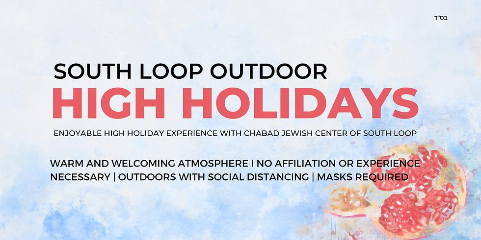 Outdoor South Loop High Holidays - Rosh Hashanah & Yom Kippur