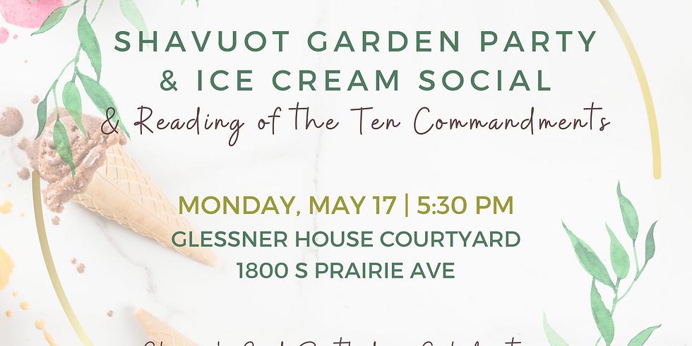 Shavuot Garden Party & Ice Cream Social