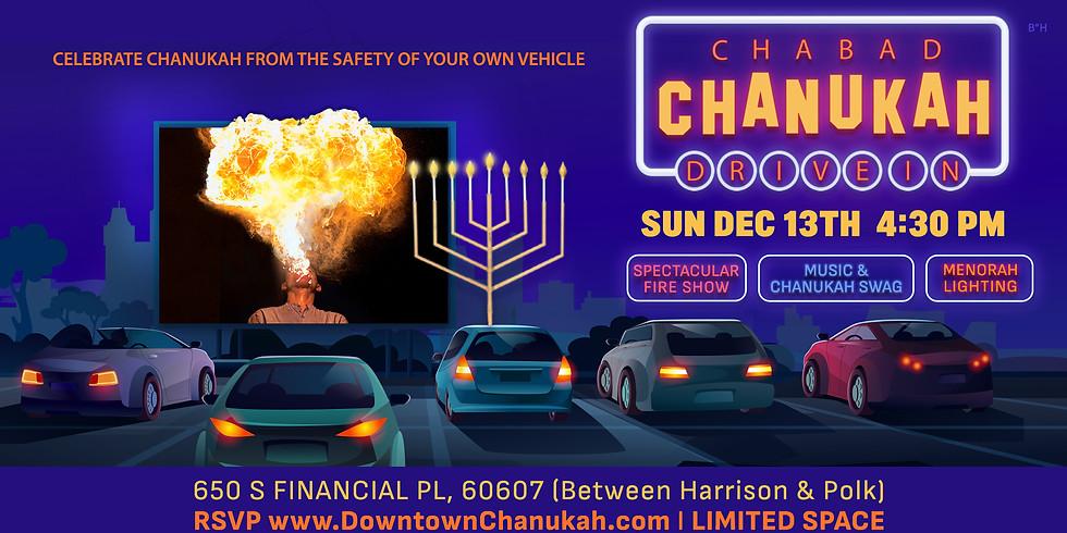Drive-in Chanukah Celebration and Grand Menorah Lighting!