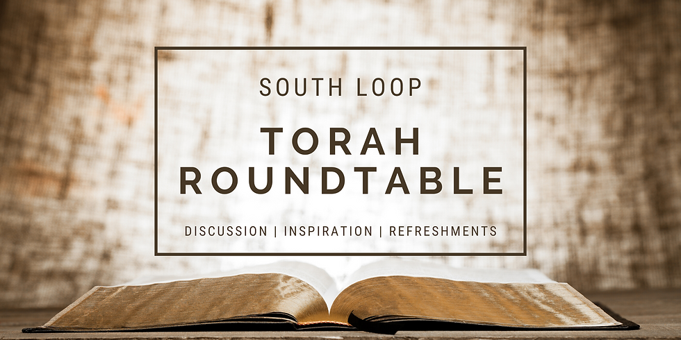 Torah Roundtable - Purim Edition!