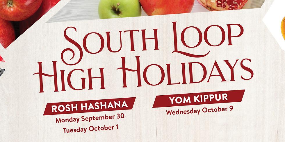 South Loop High Holidays - Rosh Hashana and Yom Kippur