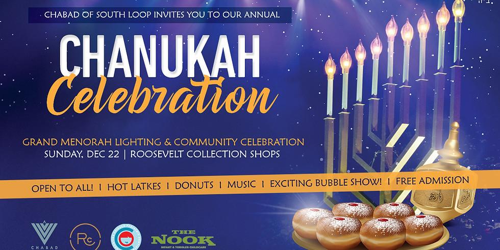 Grand Menorah Lighting & Chanukah Celebration