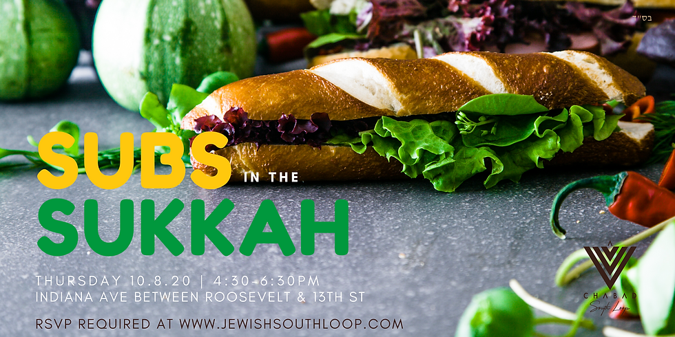 Subs in the Sukkah