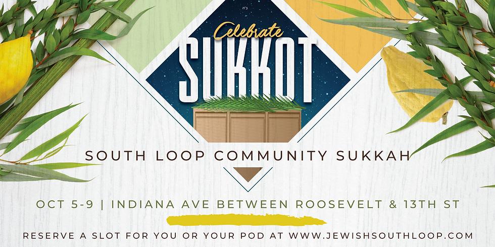 South Loop Community Sukkah