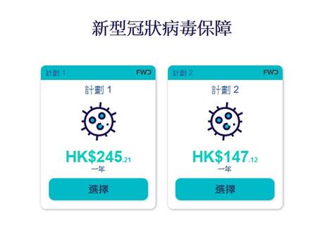 【Bolttech  - 新型冠狀病毒保障 -全年保費低至HK$147 】