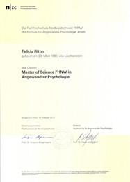 MSc in Angewandte Psychologie - FHNW