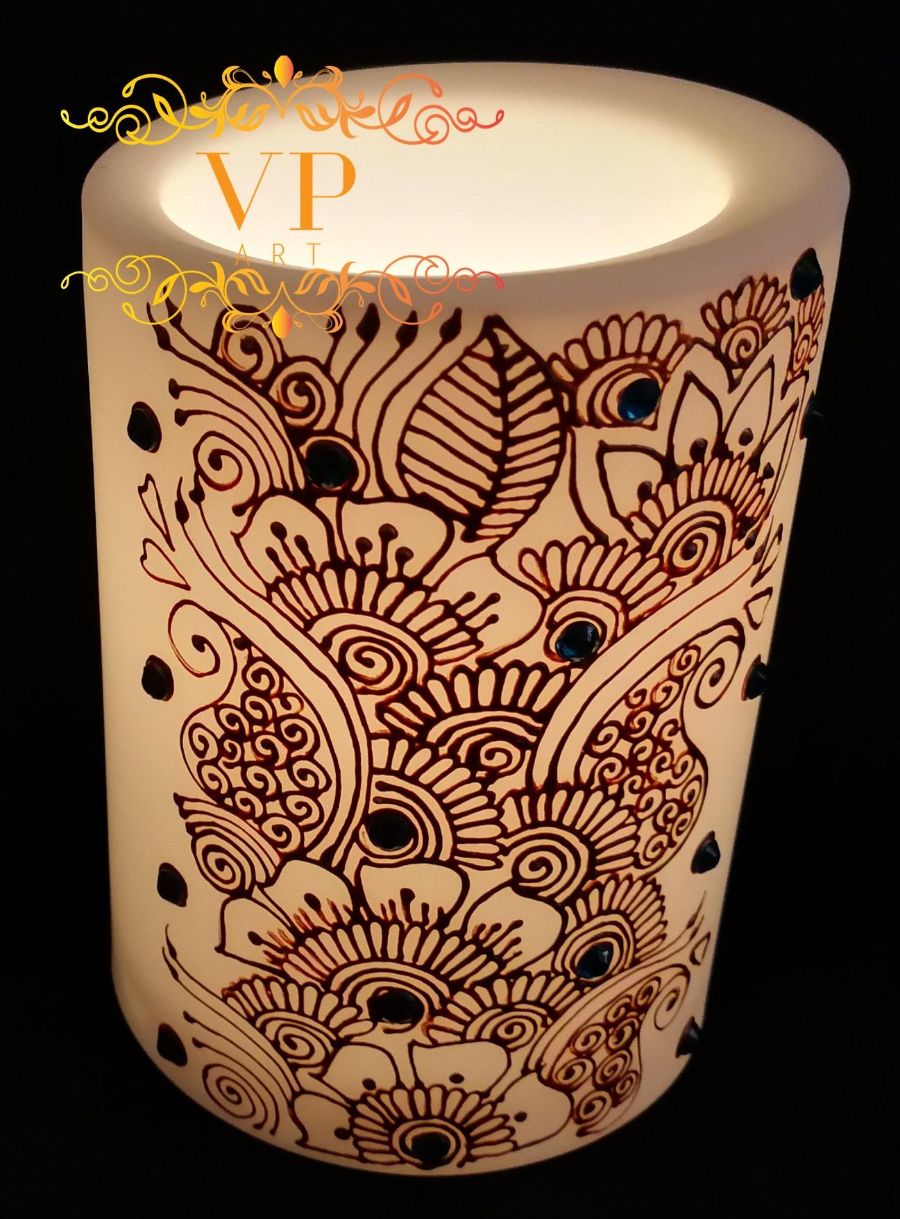 LED Candle 10cm
