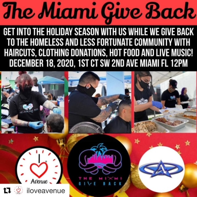THE MIAMI GIVE BACK HOLIDAY EVENT