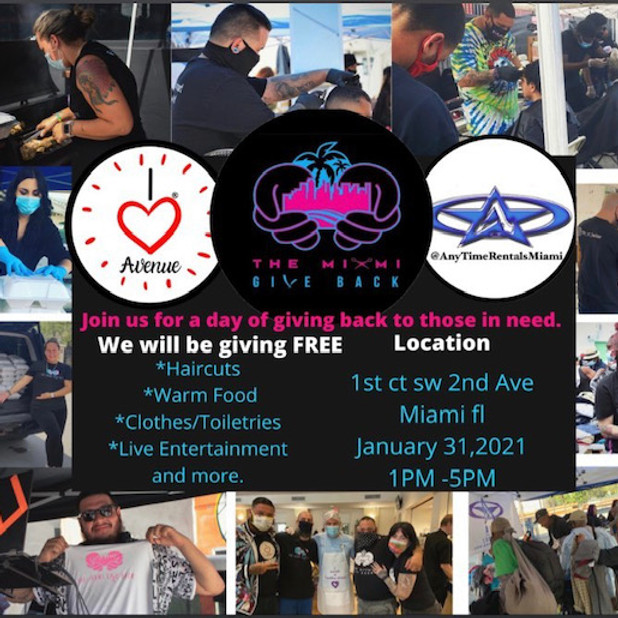 THE MIAMI GIVE BACK 1/31/21