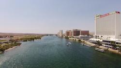 Aerial River & Casinos