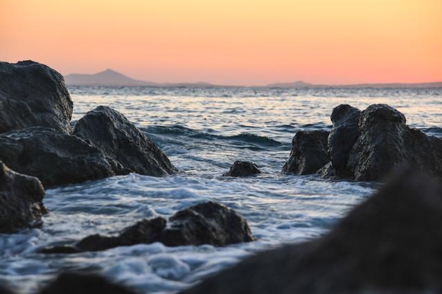 Naxos at Sunset