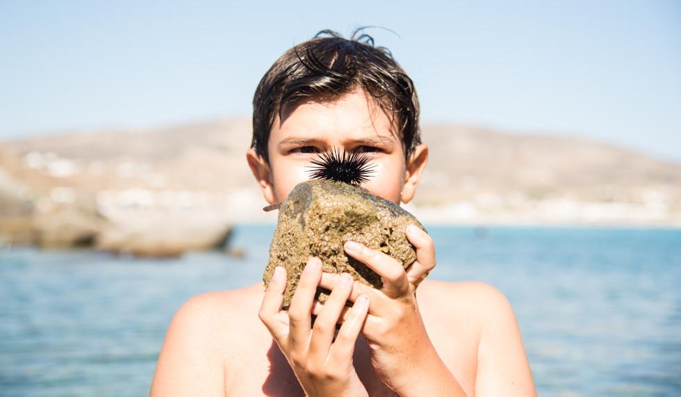 Beach Day in Naxos