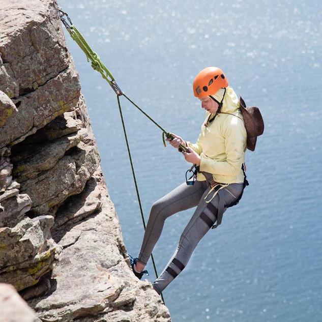 Rock Climbing at Horsetooth Reservior