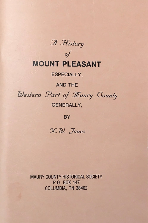 A History of Mount Pleasant