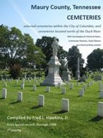 Maury County, Tennessee, Cemeteries Vol.1