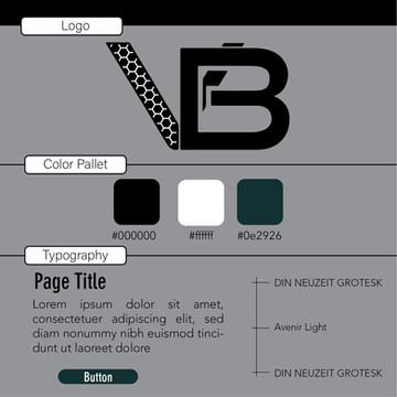 Vanta Black Branding Guide and Logo