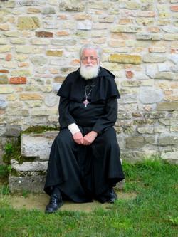 Fr Michael Wood at Aquileia