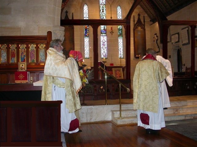 Western Rite Offertory Procession