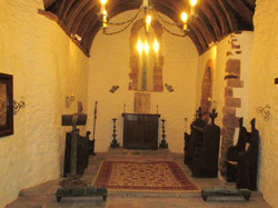Interior of pre-schism chapel.