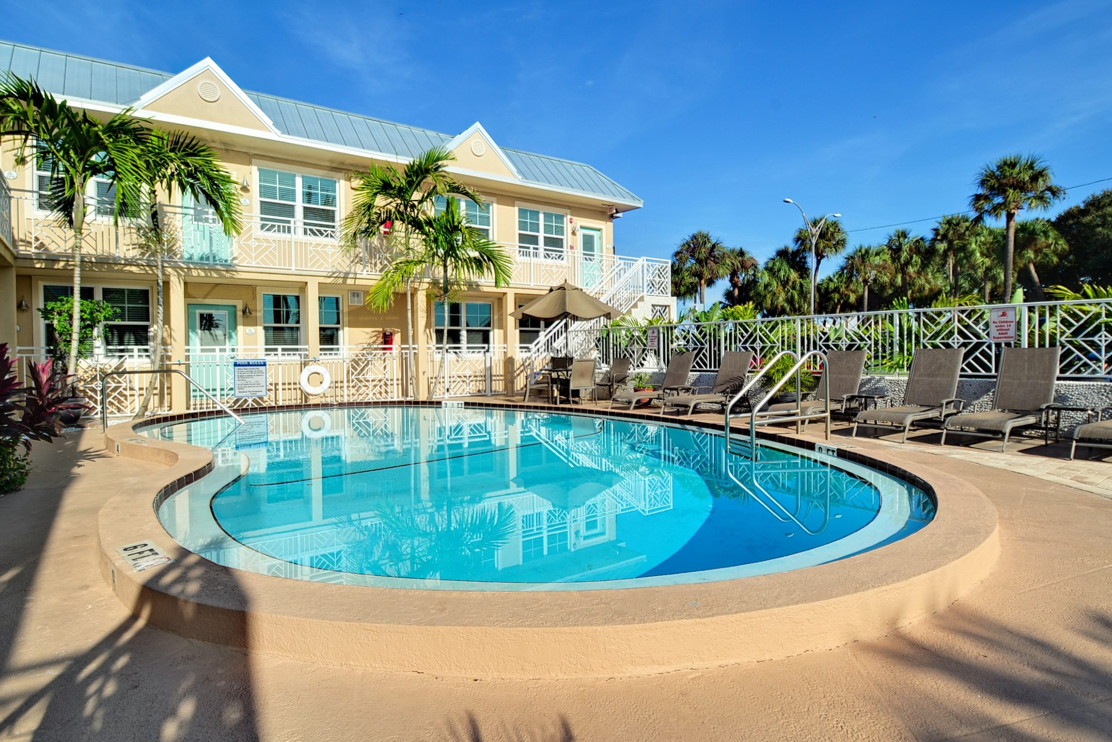 Clearwater Beach Suites Pool