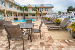 Clearwater Beach Suites Patio
