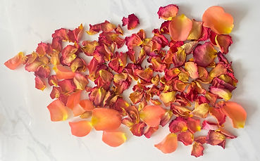 Dried & undried petals