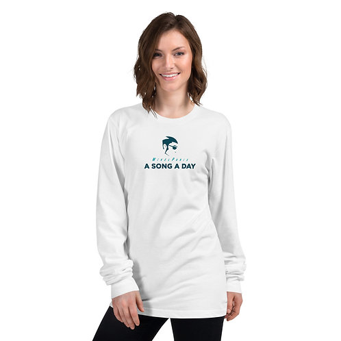 A SONG A DAY UNISEX LONG SLEEVE