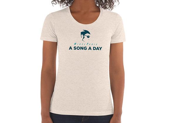 A SONG A DAY LOGO WOMAN'S TEE