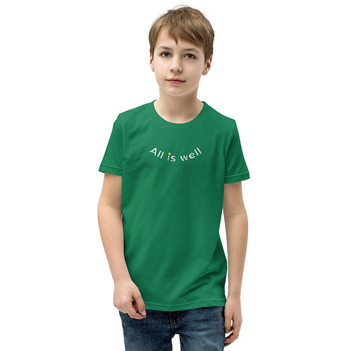 ALL IS WELL SMILEY YOUTH TEE