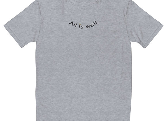 ALL IS WELL SMILEY MEN'S TEE