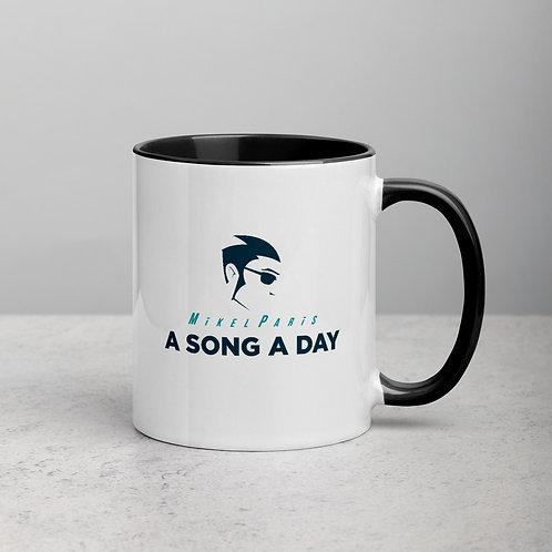 A SONG A DAY LOGO COLOR MUG