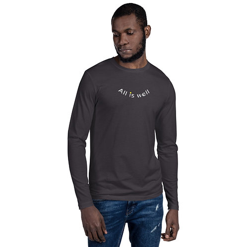 ALL IS WELL SMILEY MENS LONG SLEEVE