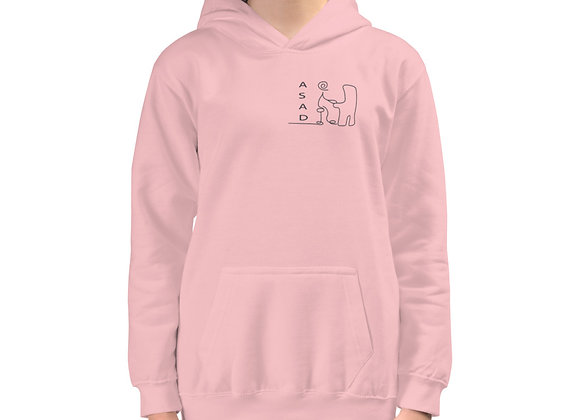 ABSTRACT ASAD YOUTH PULLOVER HOODIE