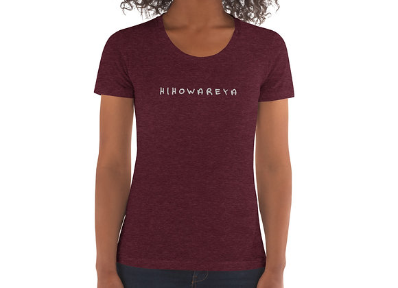 HIHOWAREYA WOMAN'S TEE
