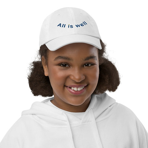 ALL IS WELL YOUTH BASEBALL CAP