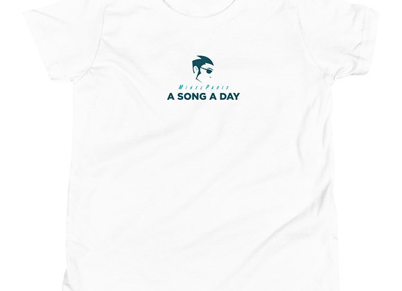 A SONG A DAY LOGO YOUTH TEE