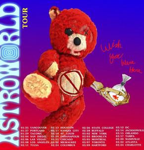 Travis Scott Astroworld Tour 2019