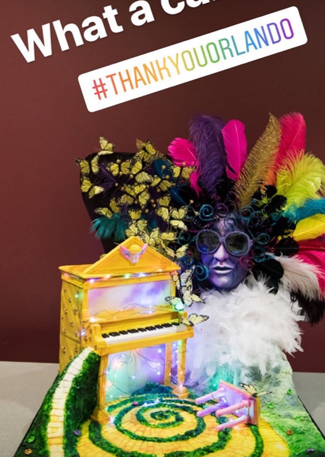 Thank you from Elton