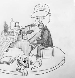 Billy Joel Sketch