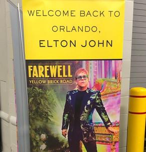 Welcome back to Orlando Elton