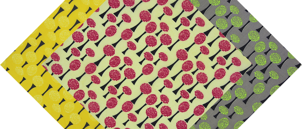 蜜蠟布 - 迷幻樹
