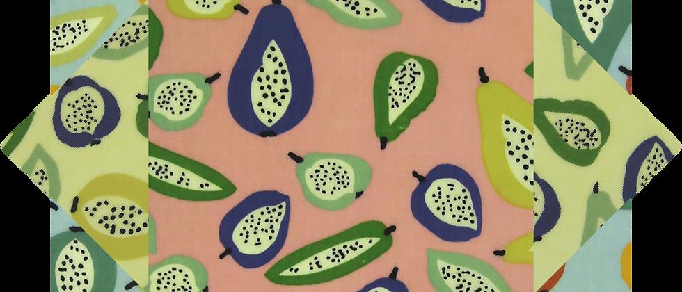 蜜蠟布家庭裝 - 奇異水果