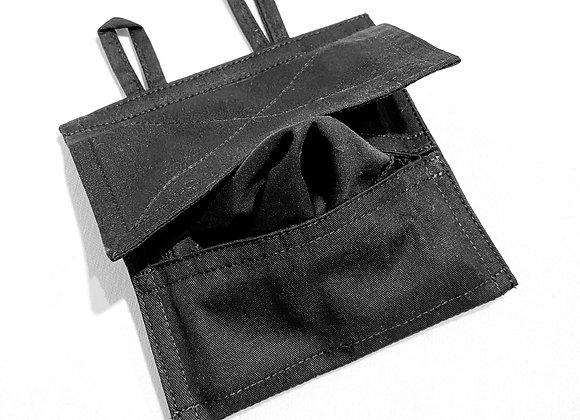 Reusable Tissue Towel Pocket – Black