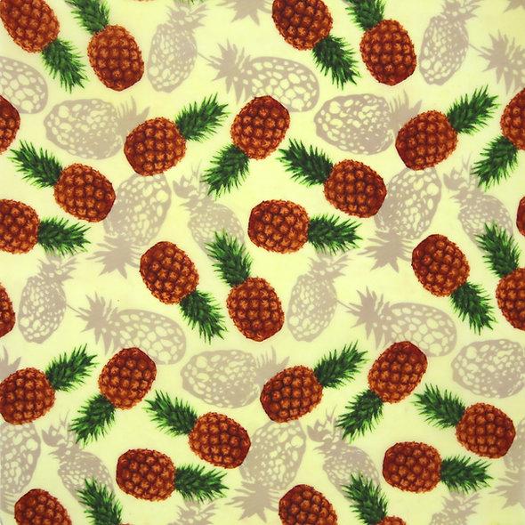 蜜蠟布 - 熱帶菠蘿